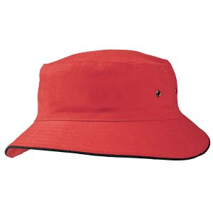 Sandwich Brim Bucket Hat