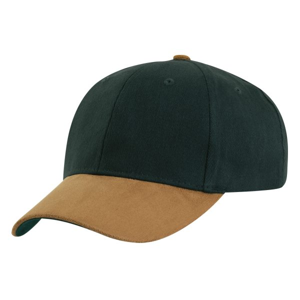 Sueded Peak Cap