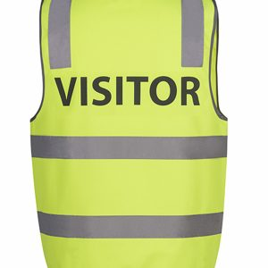 JB'S HI VIS D+N SAFETY VEST VISITOR