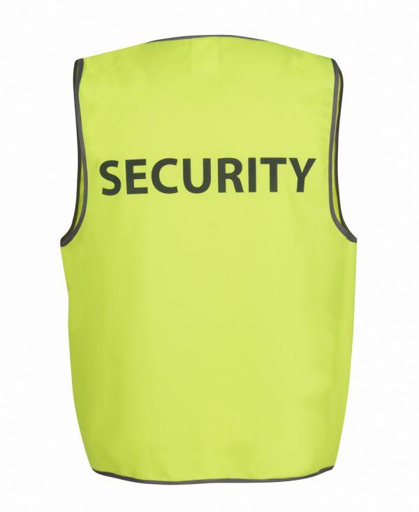 JB'S HI VIS SAFETY VEST SECURITY