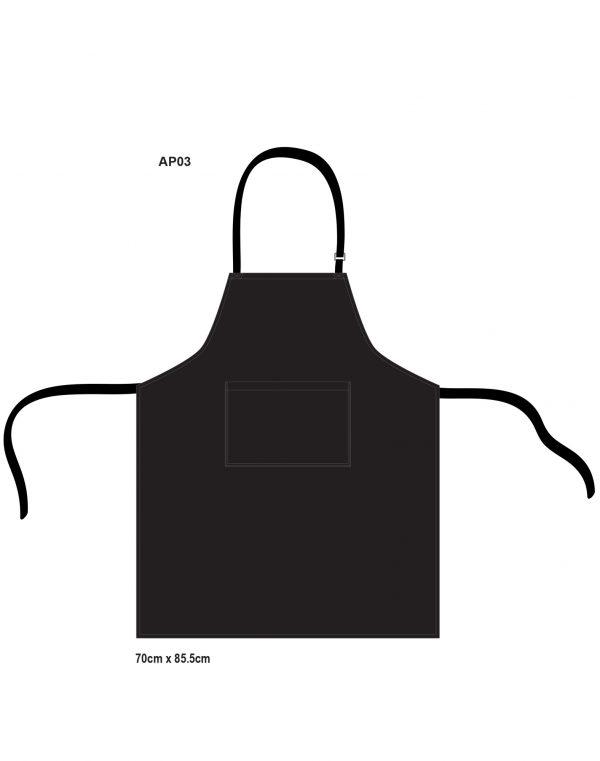 Bib apron  w86xh70cm