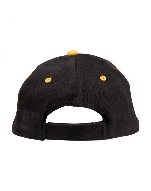 H/B/C suede  peak cap