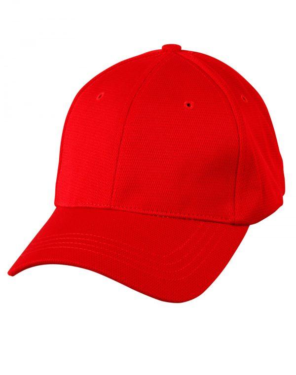 Pique mesh structured cap.
