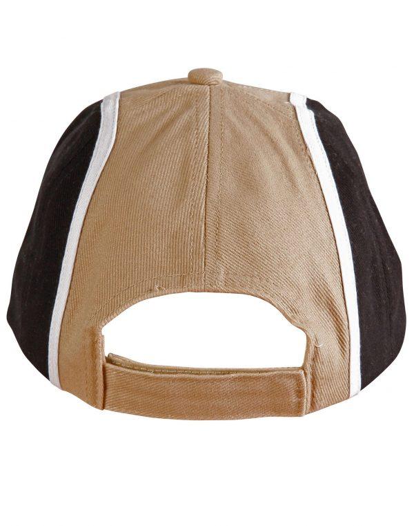 H/B/C tri-color baseball cap