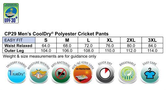 Mens cricket pants