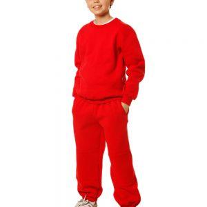Kids Crew Neck Fleecy Sweater