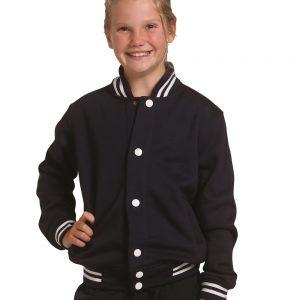 Kid's Fleece Varsity Jacket