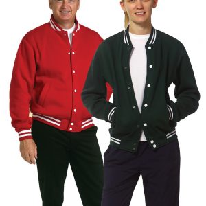 Adult's Fleece Varsity Jacket