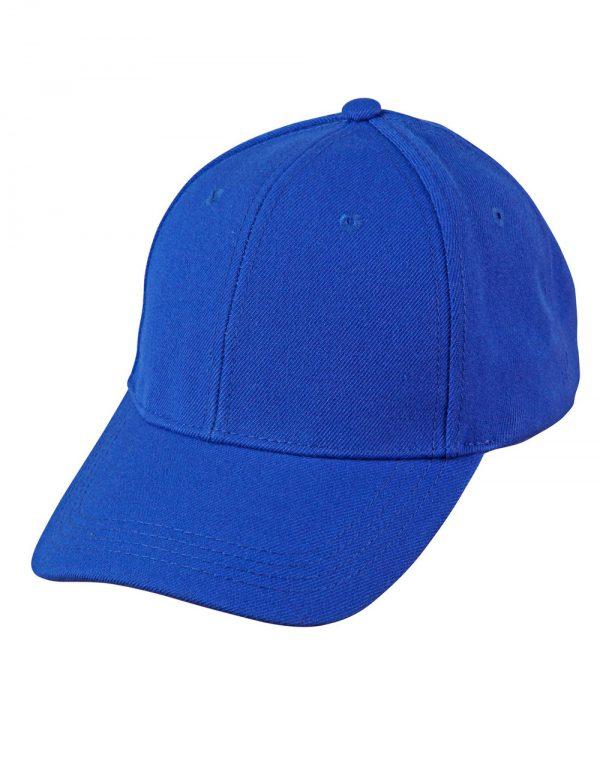 Wool blend structured cap