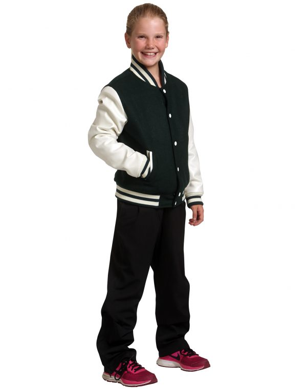 Kid's Wool Blend Varsity Jacket