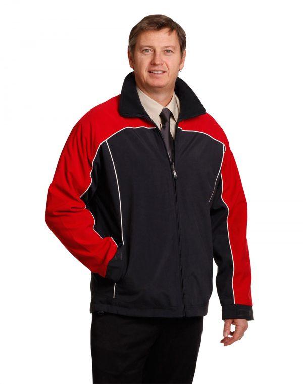 Reversible jacket contrast colors