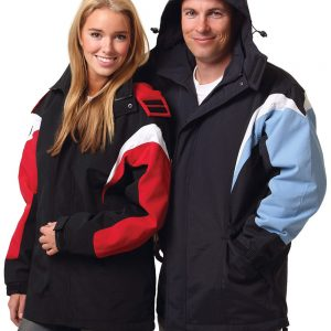 bathurst tri-color jacket with hood