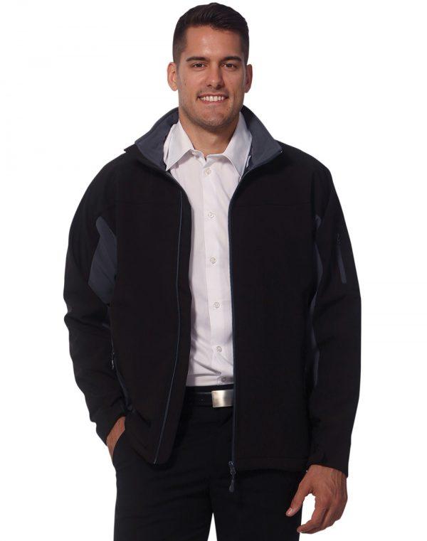 Men's Contrast Softshell Jacket