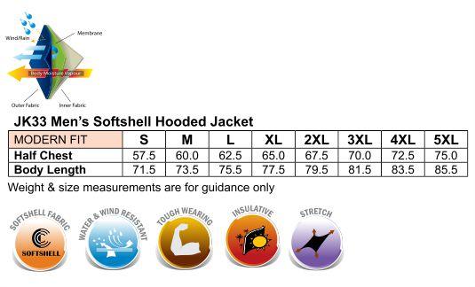 Men's Softshell Full Zip Hoodie