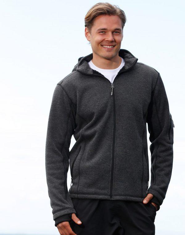 Men's Heather Bonded Fleece Jacket