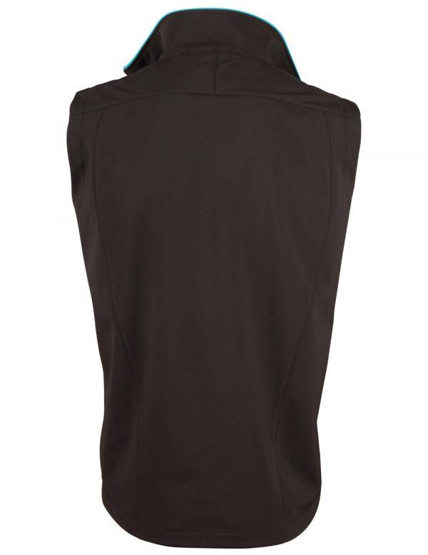 Ladies' Softshell Contrast Vest