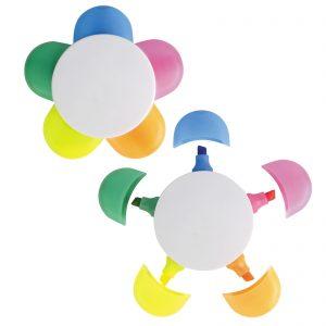 Daisy 5 Colour Highlight Marker
