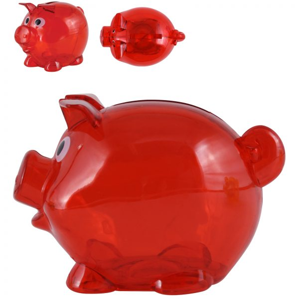 World's Smallest Pig Coin Bank