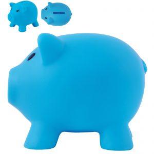 Pee Wee Pig PVC Coin Bank