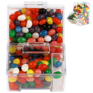 Assorted Colour Mini Jelly Beans in Dispenser