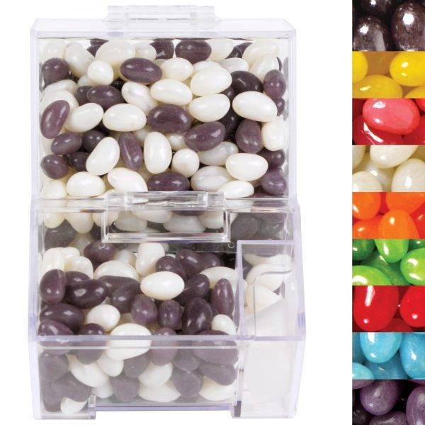 Corporate Colour Mini Jelly Beans in Dispenser