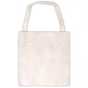 Calico Single Handle Library Satchel - 180 GSM