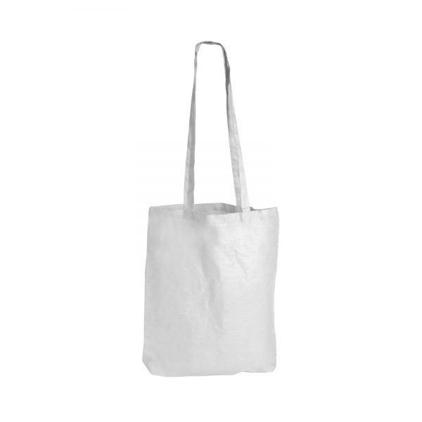 Coloured Cotton Double Long Handle Conference Bag - 140 GSM