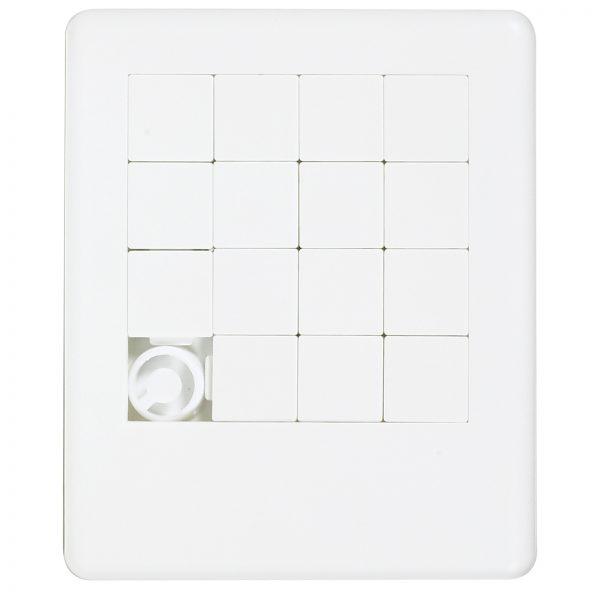 White Sliding Tile Puzzle