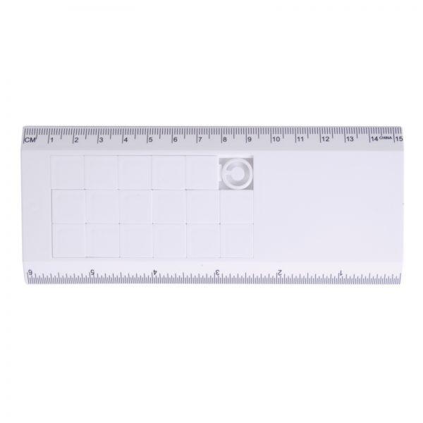 White Sliding Tile Ruler Puzzle