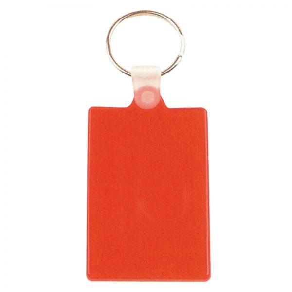 Rectangular Flexible PVC Keytag