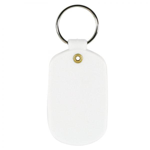 Oval Flexible PVC Keytag
