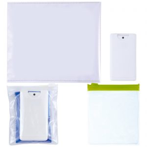 Microfibre 250GSM Lens Cloth with Screen Cleaner