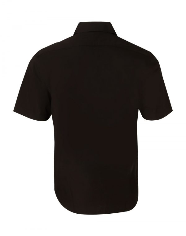 Men's Cotton/Poly Stretch S/S Shirt