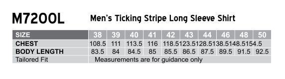 Men's Ticking Stripe L/S Shirt
