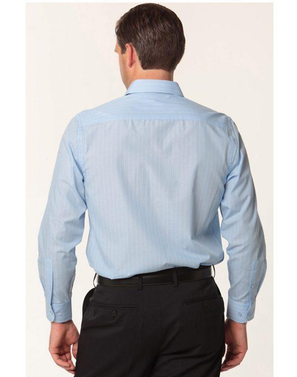 Men's Pin Stripe Long Sleeve Shirt