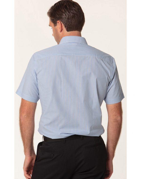 Men's Balance Stripe Short Sleeve Shirt