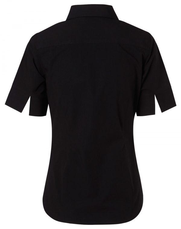 Women's Cotton/Poly Stretch S/S Shirt