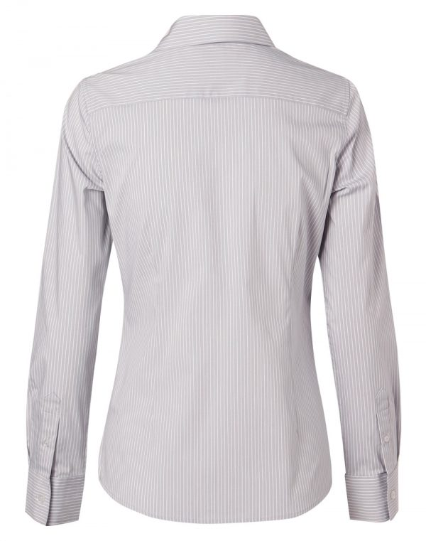Women's Ticking Stripe L/S Shirt