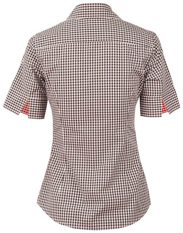 Women's Gingham Check S/S Shirt