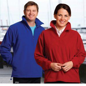 Unisex polar fleece long sleeves