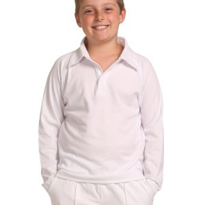 Kid's L/S Truedry mesh knit cricket