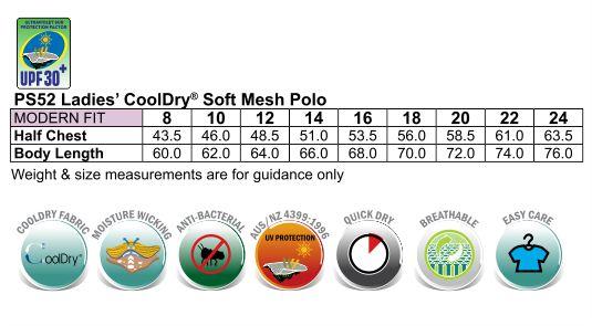 Ladies' CoolDry Soft Mesh Polo
