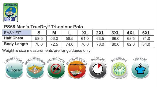 Men's Tri-colour S/L