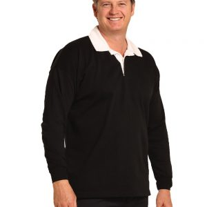 heavy poly-cotton jersey rugby