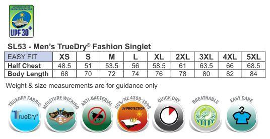 Men's Truedry Fashion Singlet