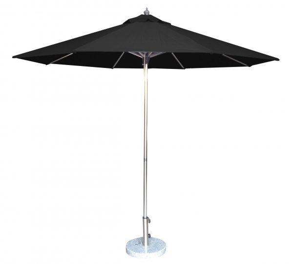 3.5m Tuscany Polished Market Umbrella, Polyester cover