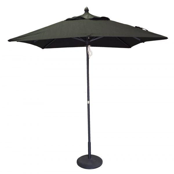 2.0m  Square Sorrento Market Umbrella 2 piece pole