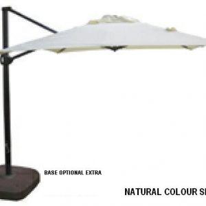 Cantilever 2.5m Market Umbrella
