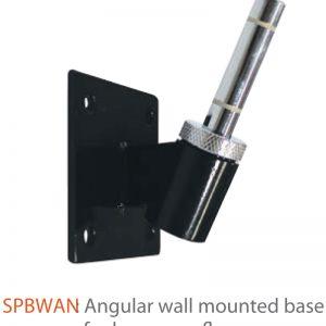 Indoor Angular Wall Mounted Base