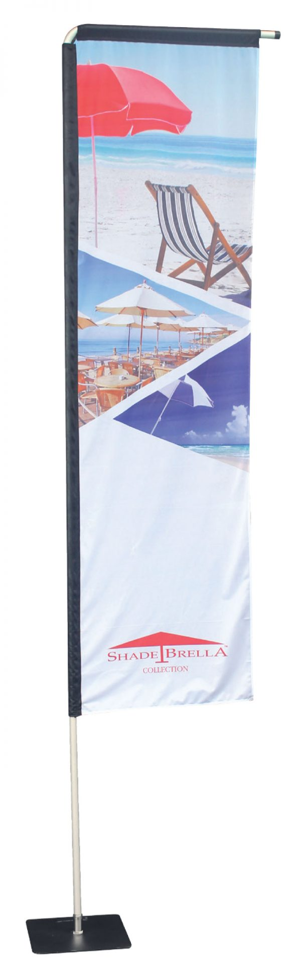 Extra Large Rectangle Flag - Double sided Combo